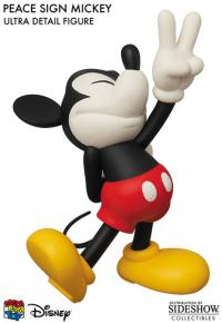 Gallery Image of Peace Sign Mickey Vinyl Collectible