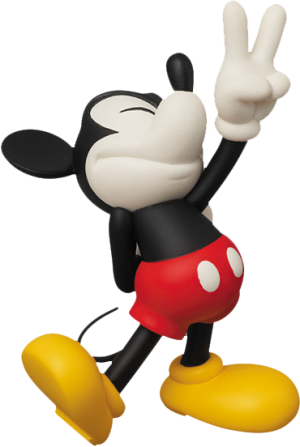 Peace Sign Mickey Vinyl Collectible