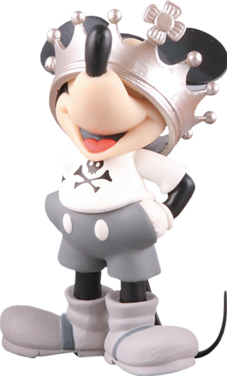 Medicom Toy Crown Mickey Vinyl Collectible