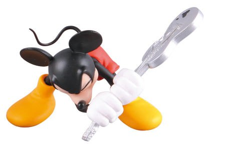 Gallery Feature Image of Guitar Mickey Vinyl Collectible - Click to open image gallery