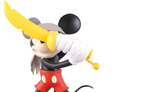 Gallery Feature Image of Pirate Mickey Vinyl Collectible - Click to open image gallery