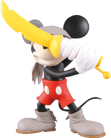 Medicom Toy Pirate Mickey Vinyl Collectible