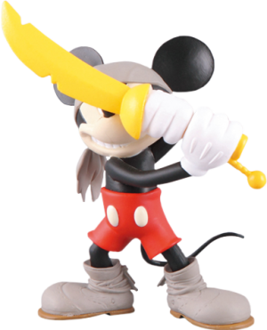 Pirate Mickey Vinyl Collectible