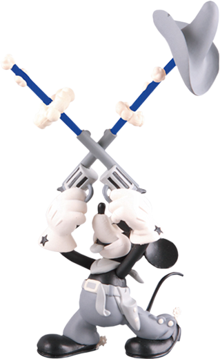 Medicom Toy Two-Gun Mickey Vinyl Collectible