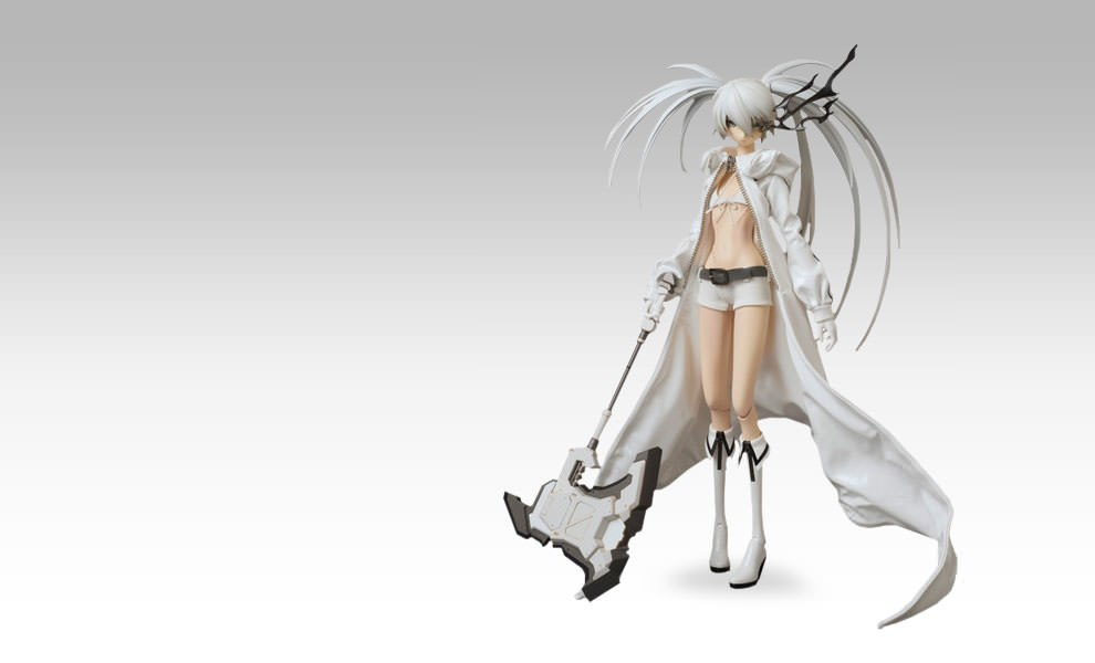 Gallery Feature Image of White Rock Shooter Sixth Scale Figure - Click to open image gallery