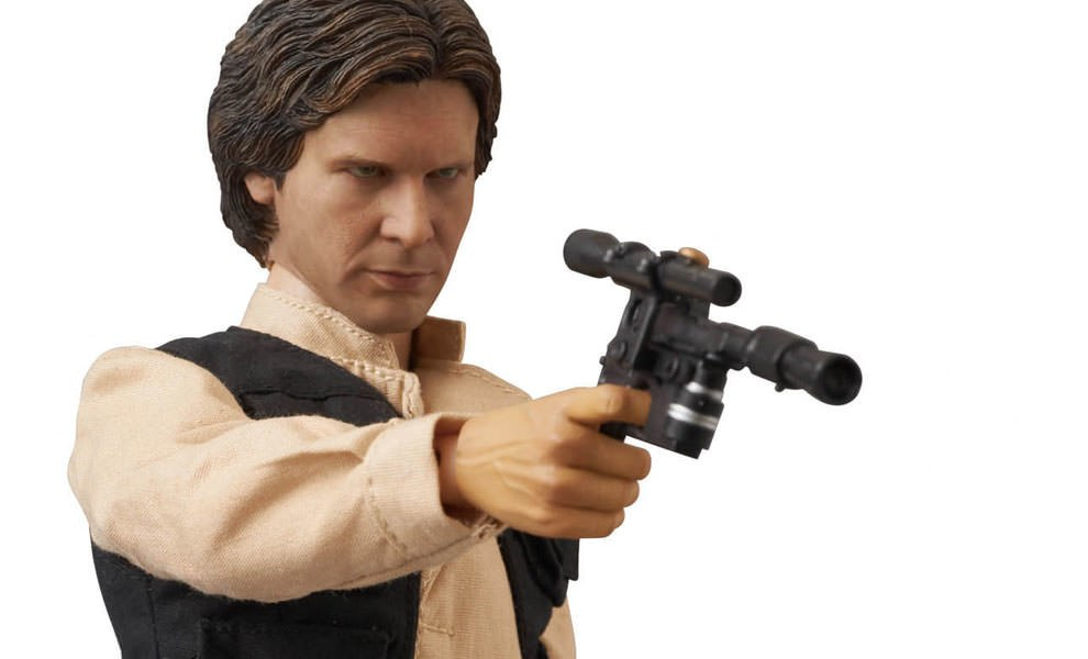 Gallery Feature Image of Han Solo Collectible Figure - Click to open image gallery