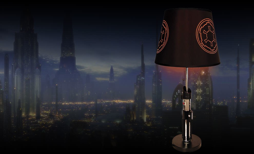 Gallery Feature Image of Darth Vader Lightsaber Lamp Miscellaneous Collectibles - Click to open image gallery