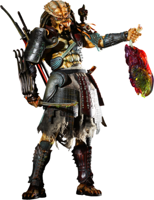 Alien vs Predator : Samurai Predator Sixth Scale Figure