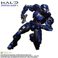 Gallery Image of Blue Spartan Mark V Collectible Figure