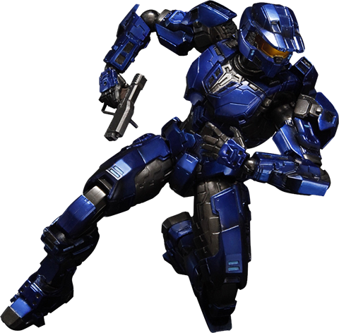 Square Enix Blue Spartan Mark V Collectible Figure