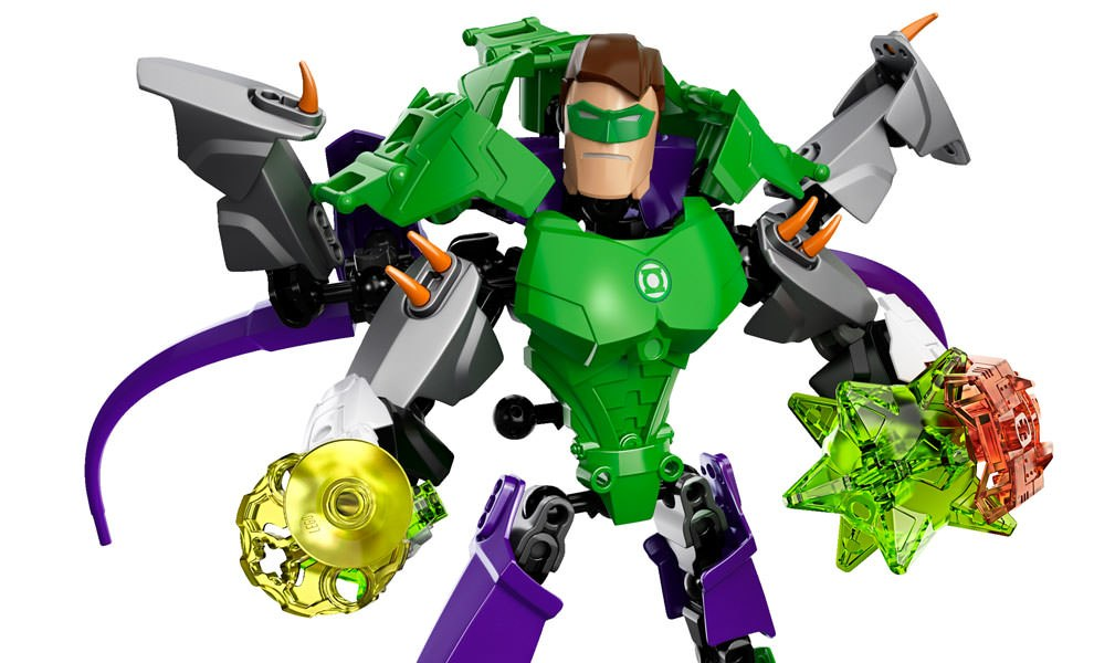 Gallery Feature Image of Green Lantern LEGO Toys - Click to open image gallery