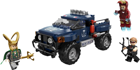 LEGO (R) Lokis Cosmic Cube Escape LEGO Toys