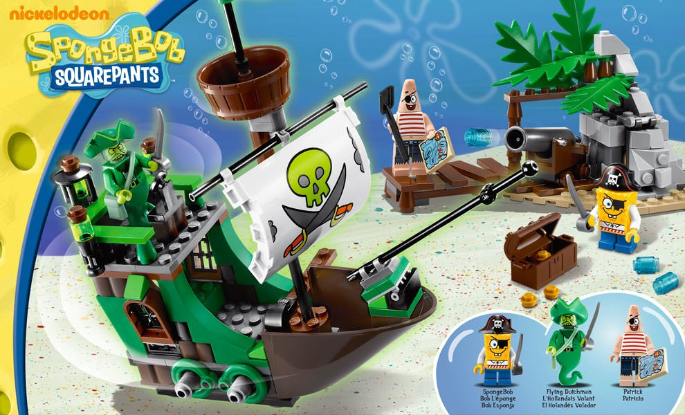 Gallery Feature Image of The Flying Dutchman LEGO Toys - Click to open image gallery