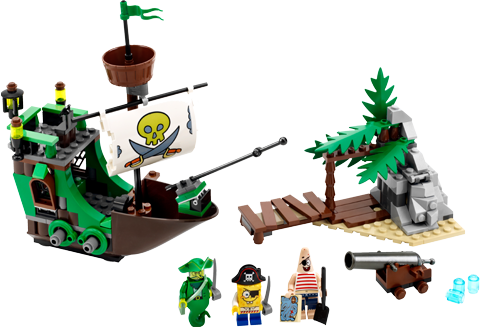 LEGO (R) The Flying Dutchman LEGO Toys