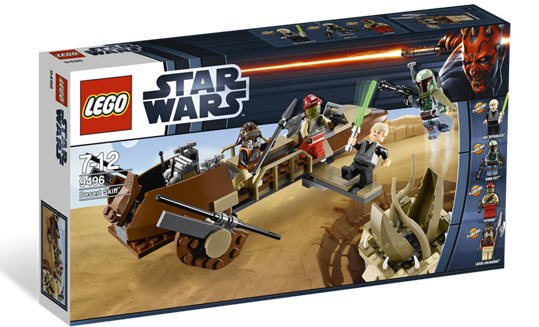 Gallery Feature Image of Desert Skiff LEGO Toys - Click to open image gallery