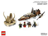 Gallery Image of Desert Skiff LEGO Toys