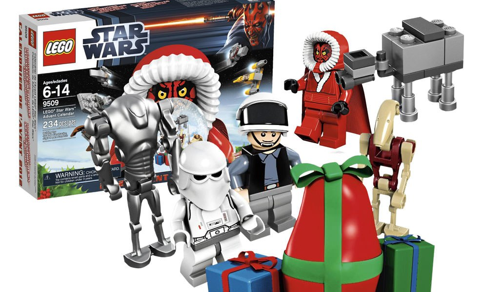 Gallery Feature Image of Star Wars Advent Calendar LEGO Toys - Click to open image gallery