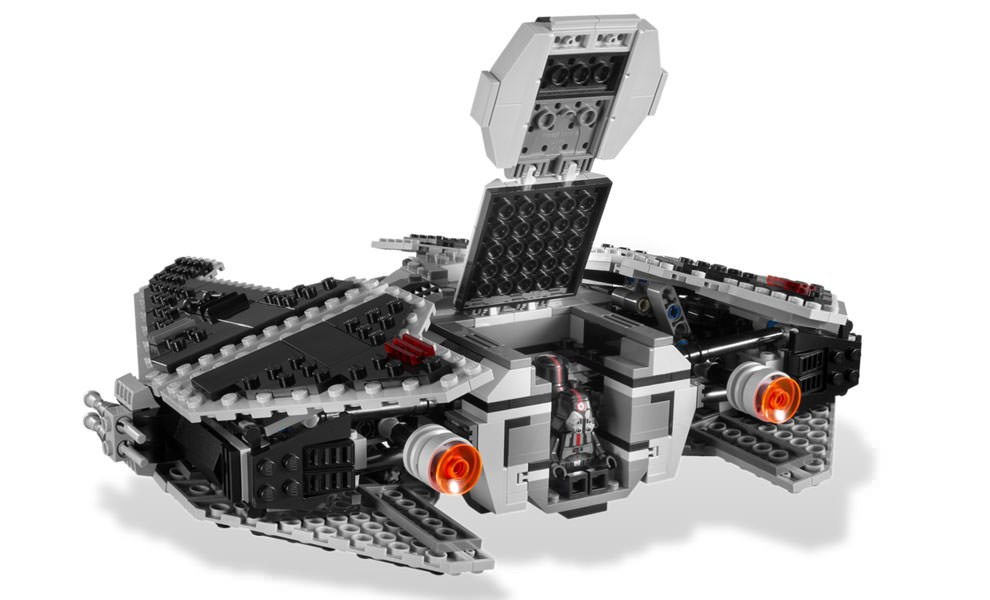 Gallery Feature Image of Sith Fury-class Interceptor LEGO Toys - Click to open image gallery