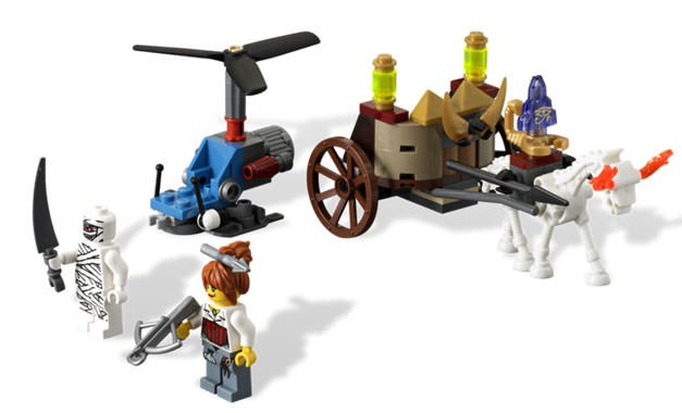 Gallery Feature Image of The Mummy LEGO Toys - Click to open image gallery