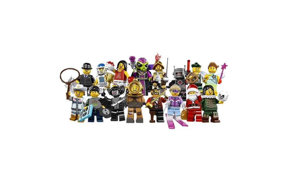 Gallery Feature Image of LEGOR Minifigures LEGO Toys - Click to open image gallery