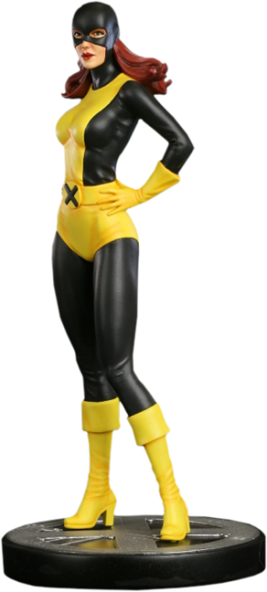 Jean Grey Marvel Girl Original Polystone Statue