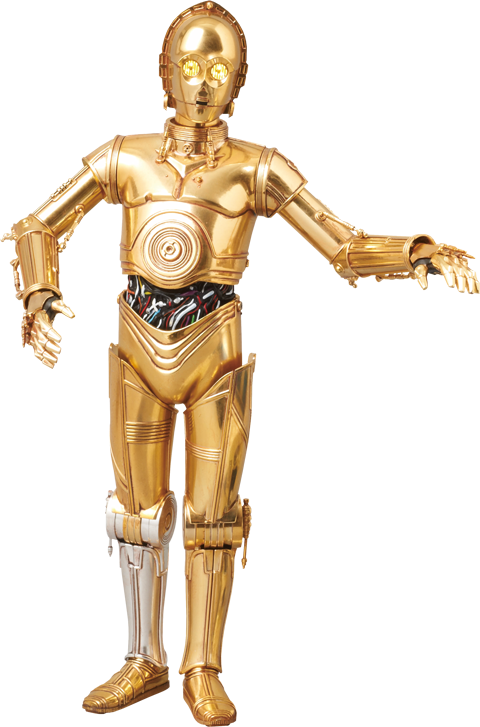 Medicom Toy C-3PO Collectible Figure