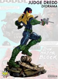 Gallery Image of Judge Dredd Diorama