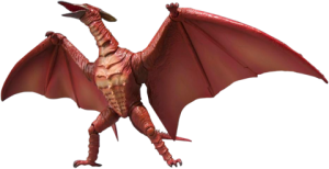 Fire Rodan Collectible Figure