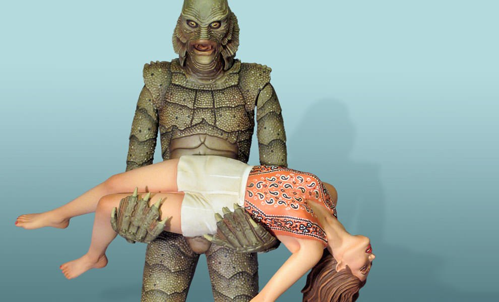 Gallery Feature Image of Creature from the Black Lagoon Model Kit - Click to open image gallery