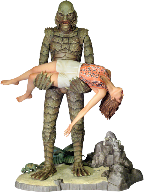 Moebius Models Creature from the Black Lagoon Model Kit