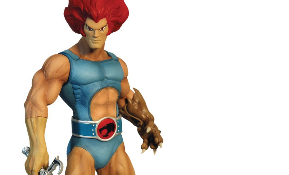Gallery Feature Image of Lion-O Collectible Figure - Click to open image gallery