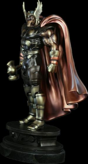 Faux Bronze Beta Ray Bill Polystone Statue