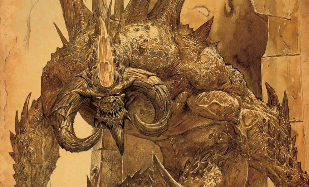 Gallery Feature Image of Diablo III Book of Cain Book - Click to open image gallery