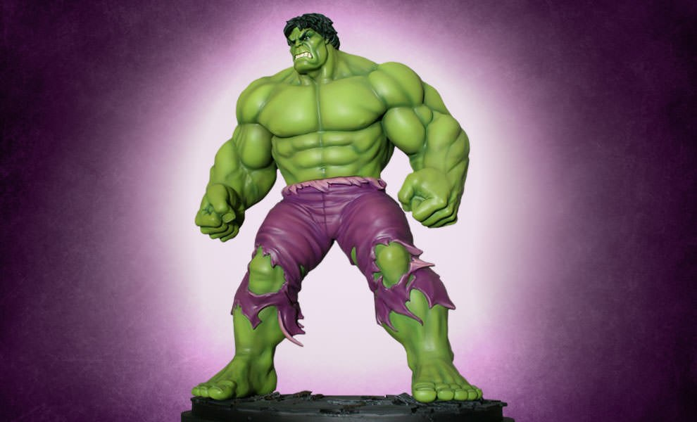 Gallery Feature Image of Savage Hulk Polystone Statue - Click to open image gallery