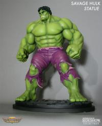 Gallery Image of Savage Hulk Polystone Statue