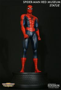 Gallery Image of Spider-Man Red Museum Polystone Statue