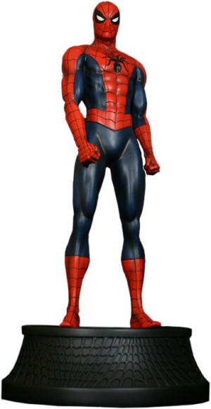 Spider-Man Red Museum Polystone Statue