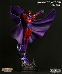 Gallery Image of Magneto Action Polystone Statue