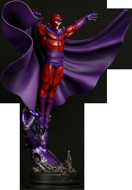 Bowen Designs Magneto Action Polystone Statue