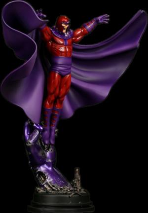 Magneto Action Polystone Statue