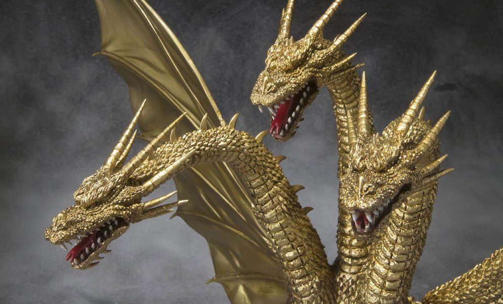 Gallery Feature Image of King Ghidorah (Godzilla) Collectible Figure - Click to open image gallery