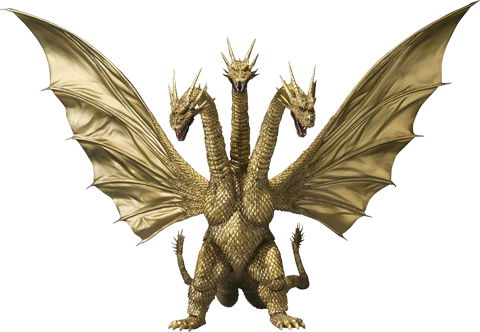 Tamashii Nations King Ghidorah (Godzilla) Collectible Figure