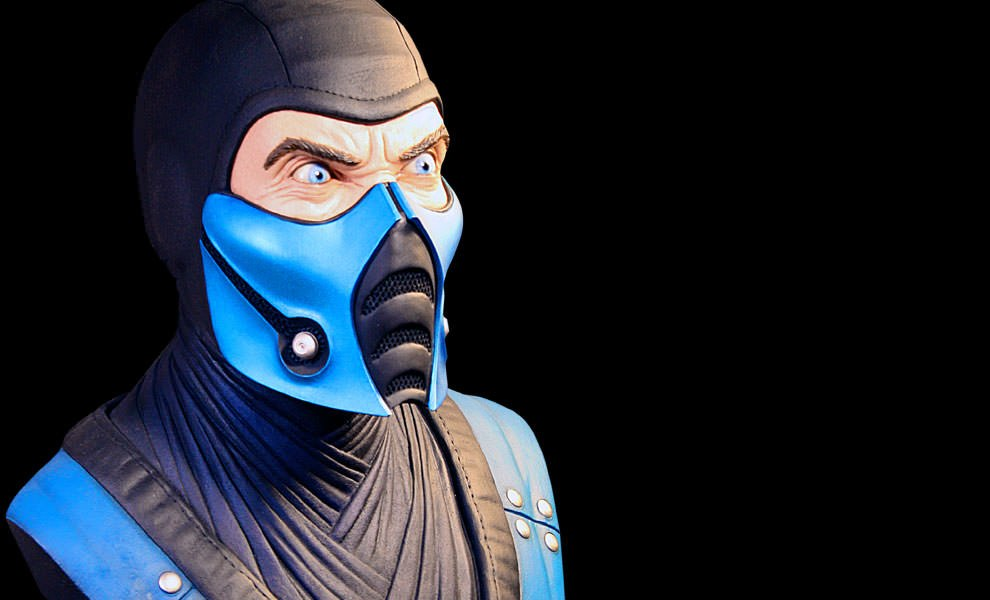 Gallery Feature Image of Sub-Zero Life-Size Bust - Click to open image gallery