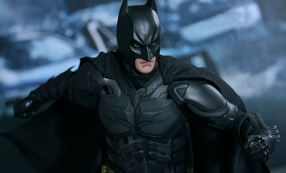 Gallery Feature Image of Batman - Bruce Wayne - DX Series Sixth Scale Figure - Click to open image gallery