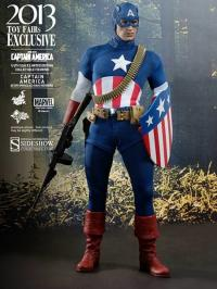 Gallery Image of Captain America - 'Star Spangled Man' Version Sixth Scale Figure