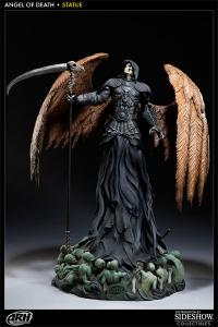 Gallery Image of Angel of Death Polystone Statue