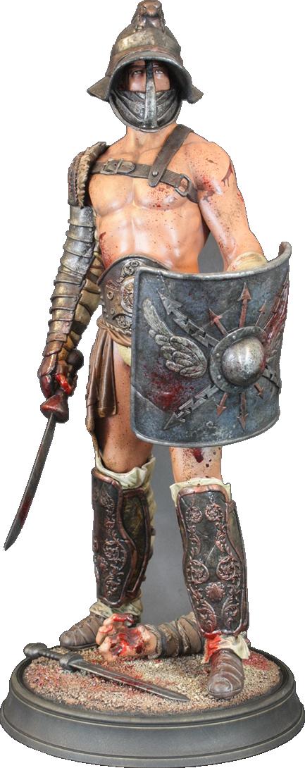 ARH Studios Spartacus Polystone Statue