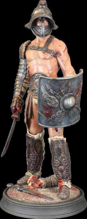 Spartacus Polystone Statue