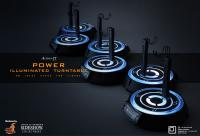 Gallery Image of Action-TT Power Illuminated Turntable Collectible Stand