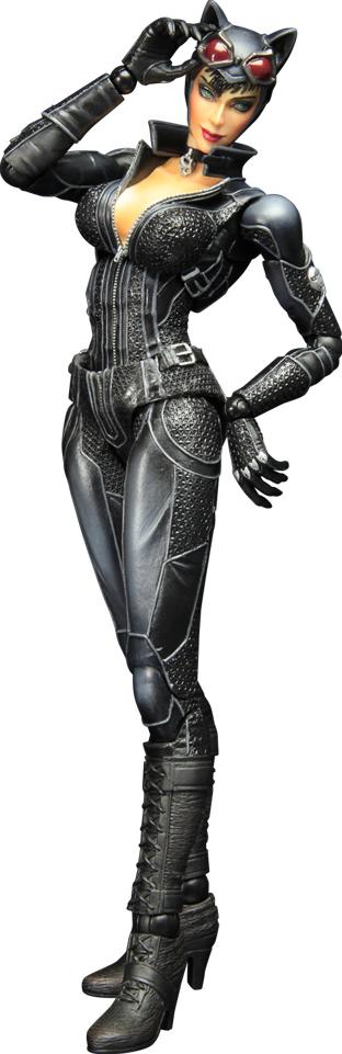 Square Enix Catwoman- Arkham City Collectible Figure